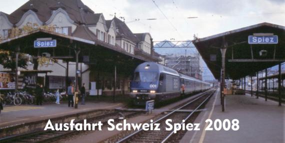 Bahnhof Spiez - Schweiz